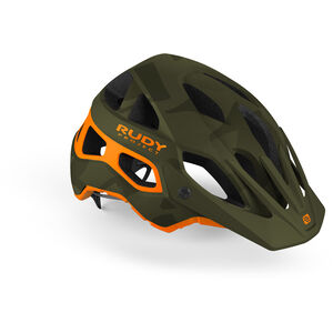 Rudy Project Protera Helmet green camo/orange green camo/orange