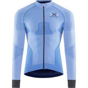 X-Bionic Race Evo Fahrrad LS Trikot Herren marina blue/anthracite marina blue/anthracite