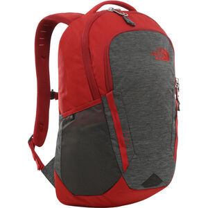 The North Face Vault Backpack tnf dark grey heather/cardinal red tnf dark grey heather/cardinal red