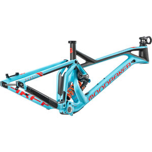 Mondraker Dune Carbon XR Frameset Light Blue/Flame Red/Carbon