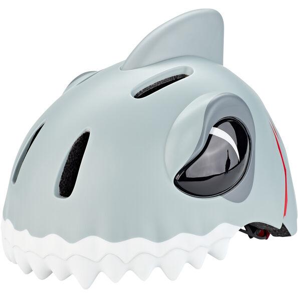 Crazy Safety Shark Helm grau