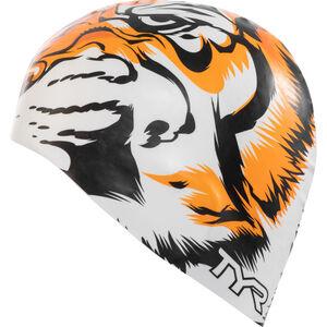 TYR Tiger Cap white/orange white/orange
