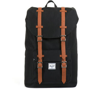 Herschel Little America Mid-Volume Backpack 17l black/tan black/tan
