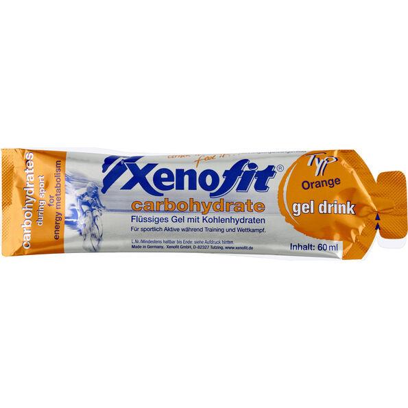 Xenofit Carbohydrate Hydro Gel Box Orange 21 x 60ml
