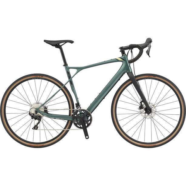 GT Bicycles Grade Carbon Expert Herren satin jade/black/moss/black