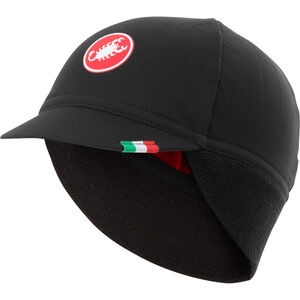Castelli Difesa Thermal Cap black/red black/red