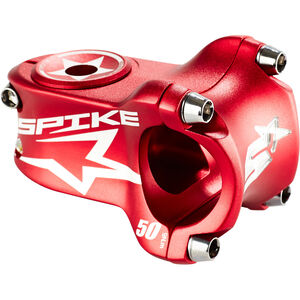Spank Spike Race Vorbau Ø 31,8 mm shotpeen red shotpeen red