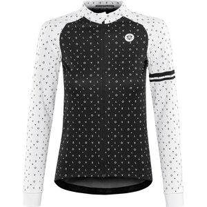 AGU Velo Longsleeve Shirt Damen black/white black/white