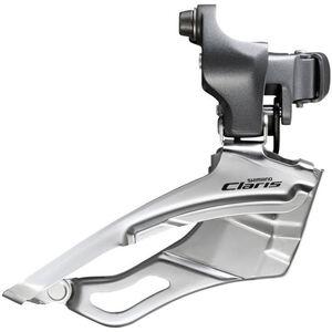 Shimano Claris FD-R2000 Umwerfer 2x8-fach Down Swing Schnelle hoch grau grau
