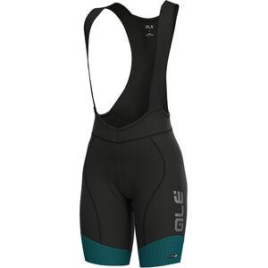 Alé Cycling PRS Master Bib Shorts Damen petroleum-turquoise petroleum-turquoise