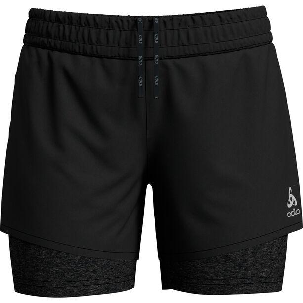 Odlo Millennium Pro 2in1 Shorts Damen black