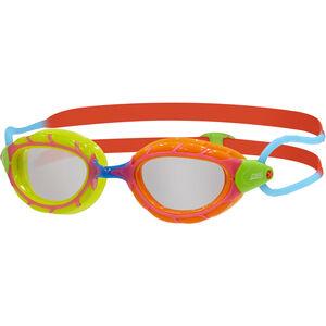 Zoggs Predator Goggles Kinder green orange/red blue/clear green orange/red blue/clear