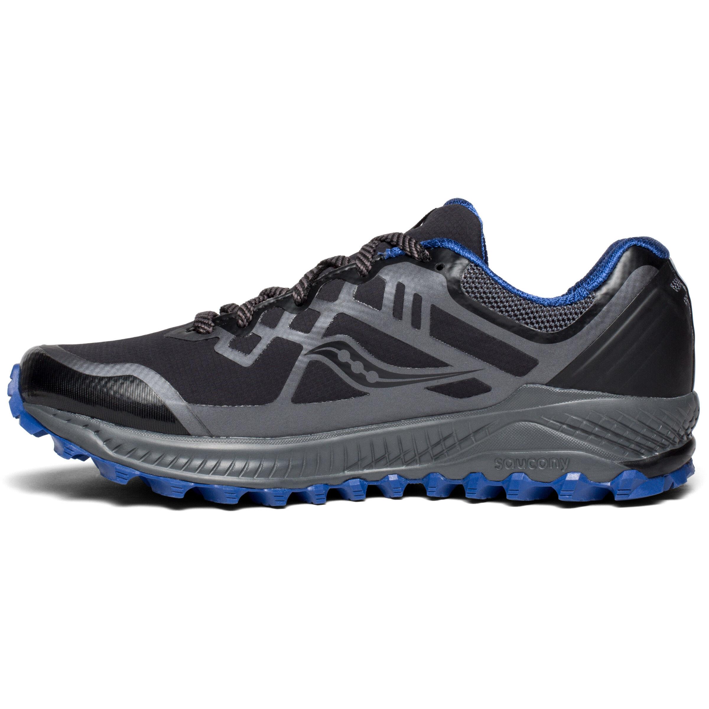 saucony Peregrine 8 GTX Shoes Herren blackgreyblue