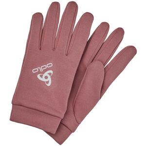 Odlo Stretchfleece Liner Warm Gloves roan rouge