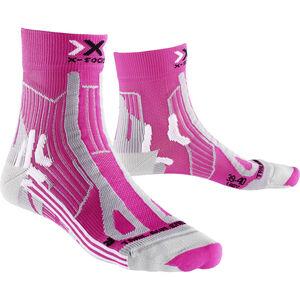 X-Socks Trail Run Energy Socks Women Pink/Pearl Grey bei fahrrad.de Online