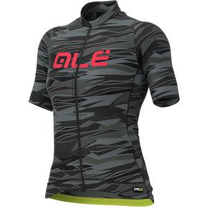 Alé Cycling Graphics PRR Rock Kurzarm Trikot Damen black/gerbera black/gerbera