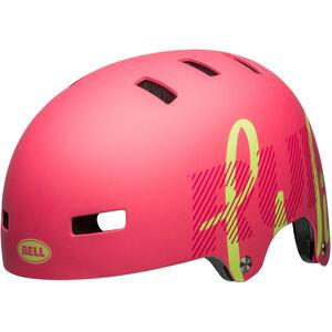 Bell Span Helmet Kinder matte flamingo/pear matte flamingo/pear