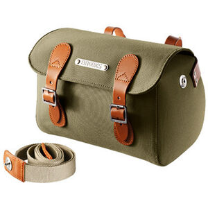 Brooks Millbrook Saddle Holdall green/honey green/honey