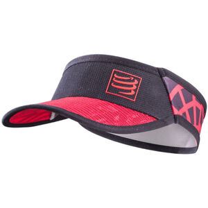 Compressport Spiderweb Ultralight Visor black-red black-red
