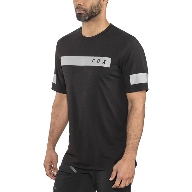 Fox Ranger Dri-Release Bar SS Jersey Herren black