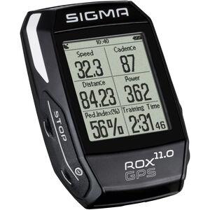 SIGMA SPORT ROX 11.0 GPS Fahrradcomputer Set schwarz bei fahrrad.de Online