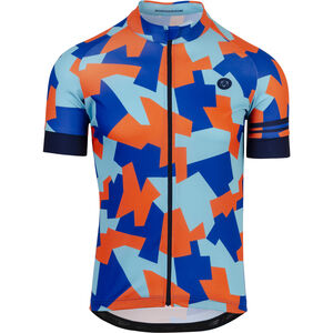AGU Camo Tile Shortsleeve Jersey Herren oxford blue oxford blue