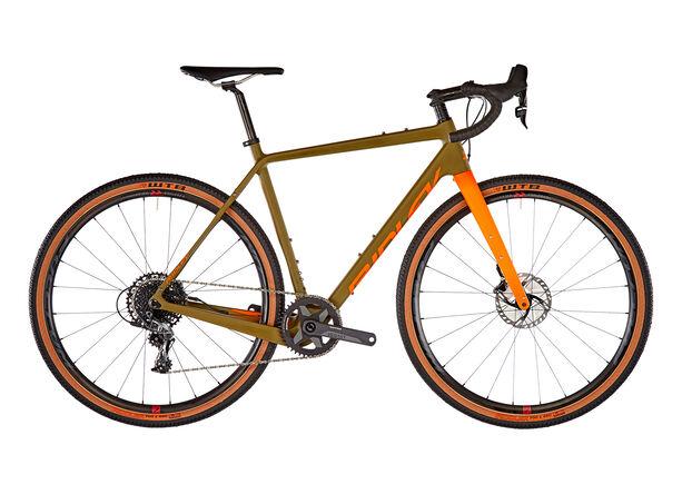 Ridley Bikes Kanzo C ADV Force1 HD camo green/orange
