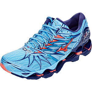 Mizuno Wave Prophecy 7 Shoes Damen aquarius/hot coral/pearl blue aquarius/hot coral/pearl blue