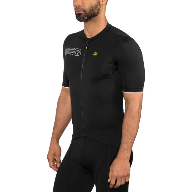 Alé Cycling Solid Color Block SS Jersey Herren black