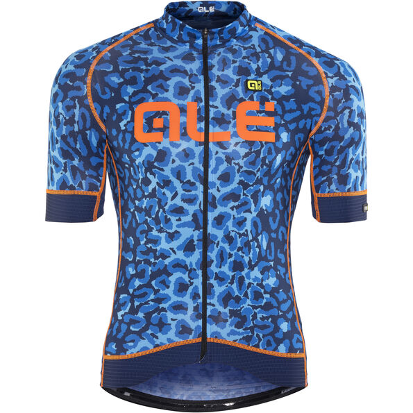 Alé Cycling Graphics PRR Agguato Shortsleeve Jersey blue-fluo orange