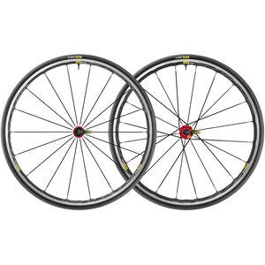 Mavic Ksyrium Elite UST Laufradsatz Shimano/SRAM M-25 schwarz/rot schwarz/rot