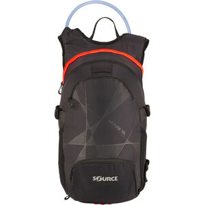 SOURCE Fuse Air Trinkrucksack 3+9l Black/Orange bei fahrrad.de Online