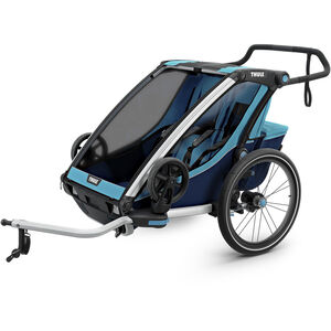 Thule Chariot Cross 2 Bike Trailer thule blue/poseidon thule blue/poseidon