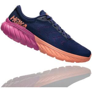 Hoka One One Mach 2 Running Shoes Damen medieval blue/very berry medieval blue/very berry