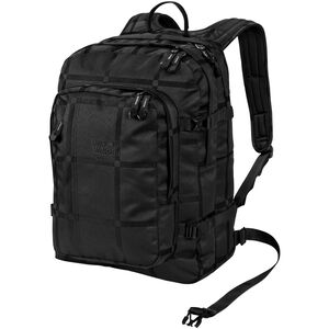Jack Wolfskin Berkeley Y.D. Daypack black big check