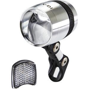Busch + Müller Lumotec IQ-X Dynamo-Frontscheinwerfer LED silber bei fahrrad.de Online