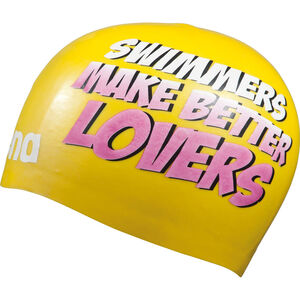 arena Poolish Moulded Swimming Cap yellow-lovers bei fahrrad.de Online