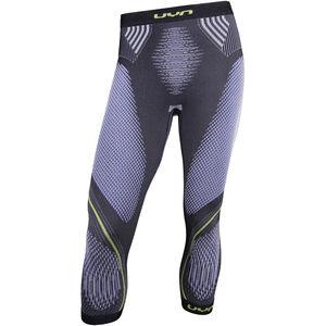 UYN Evolutyon UW Medium Pants Herren anthracite melange/blue/yellow shiny anthracite melange/blue/yellow shiny