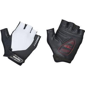 GripGrab ProGel Short Finger Padded Gloves White