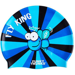 Funky Trunks Silicone Swimming Cap fly king fly king