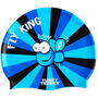 Funky Trunks Silicone Swimming Cap fly king