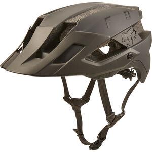 Fox Flux Solid Trail Helmet Herren navy/orange navy/orange
