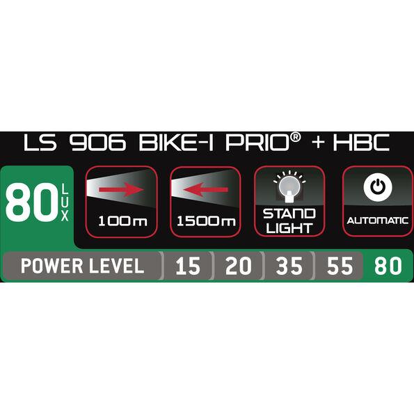 Trelock LS 906 BIKE-i Prio Dynamofrontlicht mit HBC