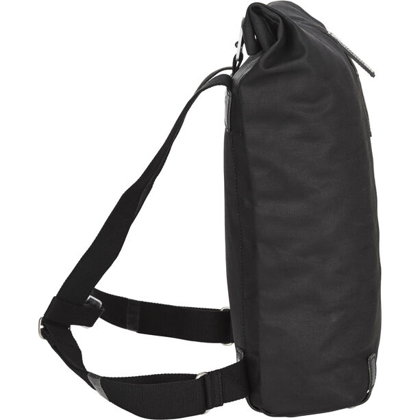 Brooks Pickwick Canvas Backpack Small 12l total black
