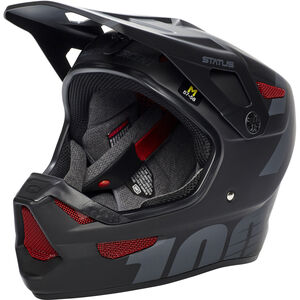 100% Status DH/BMX Helmet black meteor black meteor
