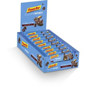 PowerBar Clean Whey Riegel Box 18x45g Chocolate Brownie