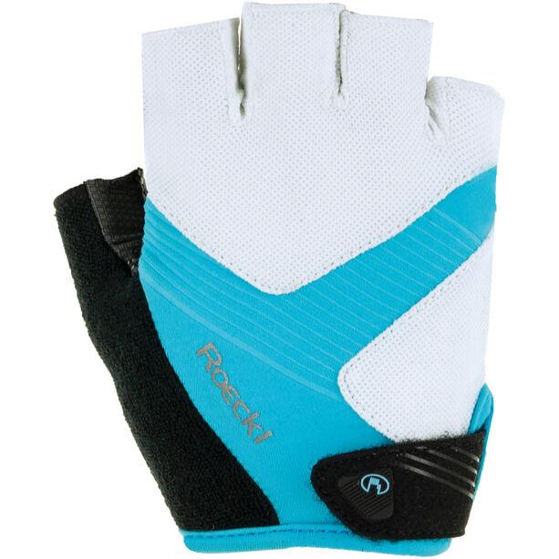 Roeckl Bregenz Handschuhe weiß/türkis