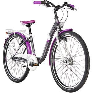s'cool chiX 26 7-S steel Darkgrey/Violett bei fahrrad.de Online