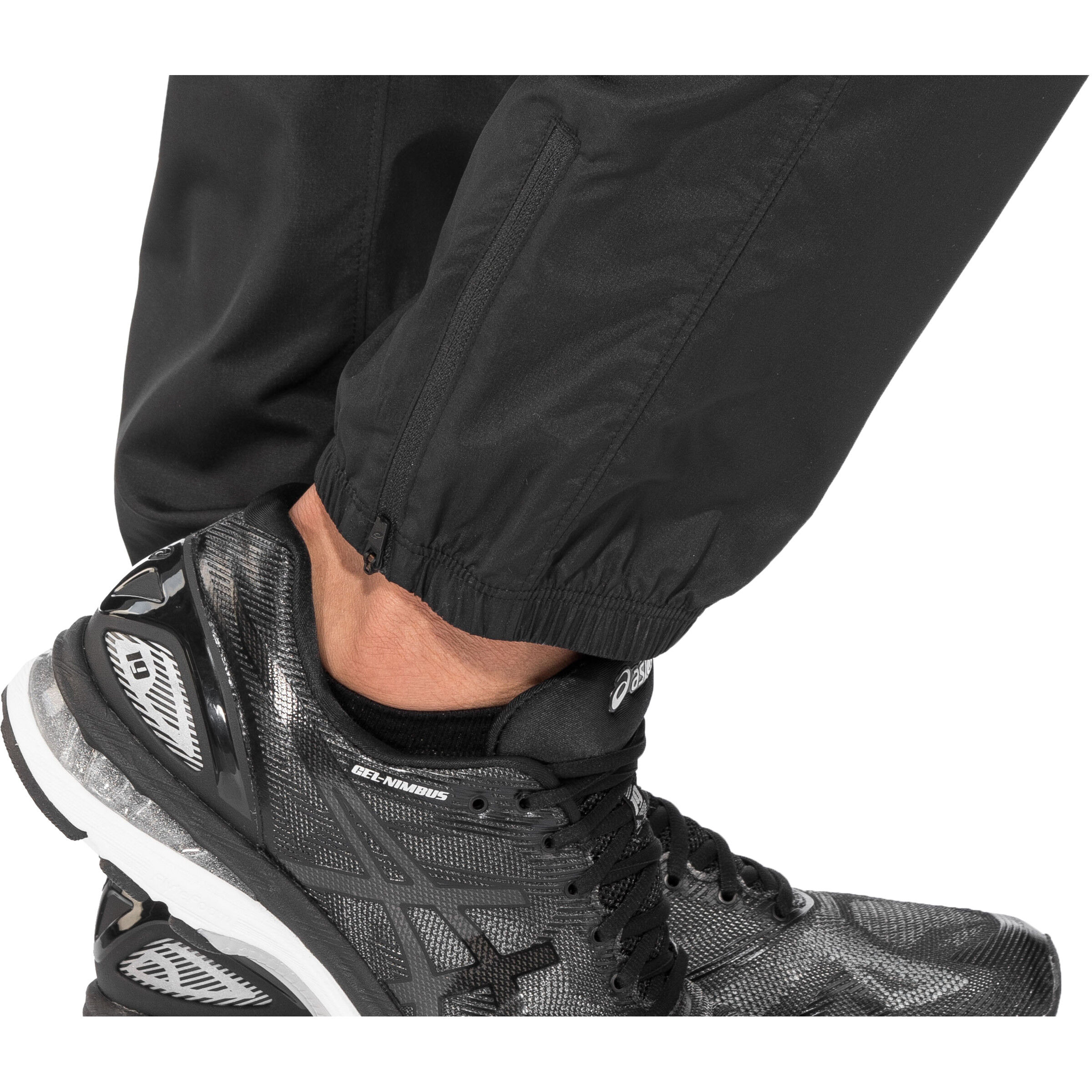 asics Silver Woven Pants Herren performance black
