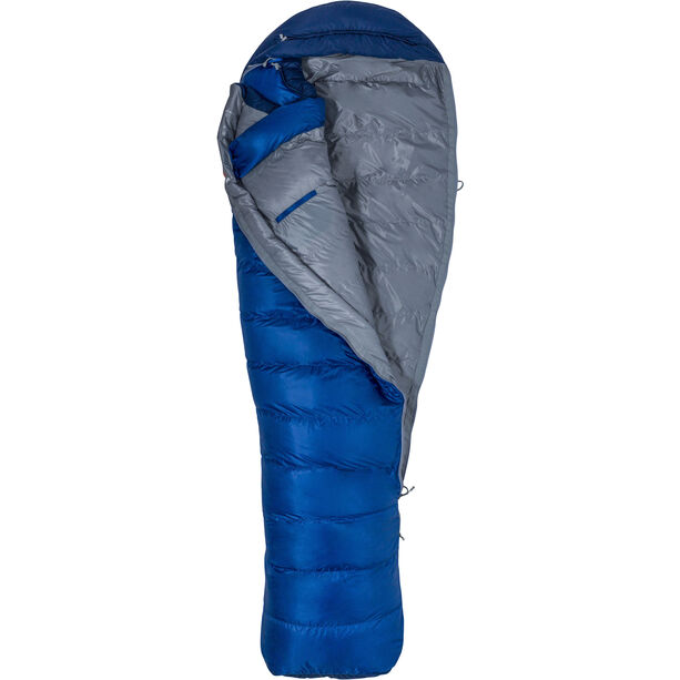 Marmot Sawtooth X Wide Sleeping Bag Long surf/arctic navy